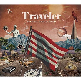 CD/Traveler (CD+DVD) (初回限定Live DVD盤)/Official髭男dism/PCCA-4821 [10/9発売]