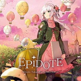 CD/EPiDOTE-Mitsuki Nakae Works Best Album- (通常盤)/中恵光城/KDSD-1039