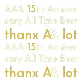 CD/AAA 15th Anniversary All Time Best -thanx AAA lot- (5CD(スマプラ対応)) (初回生産限定盤)/AAA/AVCD-96448