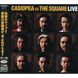 CD/CASIOPEA VS THE SQUARE LIVE (ハイブリッドCD)/CASIOPEA vs THE SQUARE/VRCL-10003