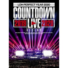 "DVD/LDH PERFECT YEAR 2020 COUNTDOWN LIVE 2019→2020 ""RISING"" (2DVD(スマプラ対応))/オムニバス/RZBD-77161"