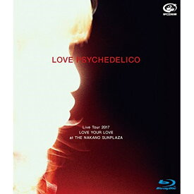BD/LOVE PSYCHEDELICO Live Tour 2017 LOVE YOUR LOVE at THE NAKANO SUNPLAZA(Blu-ray) (Blu-ray+CD) (初回限定版)/LOVE PSYCHEDELICO/VIZL-1347