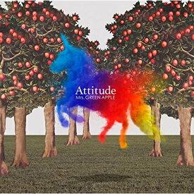 CD/Attitude (通常盤)/Mrs.GREEN APPLE/UPCH-20531