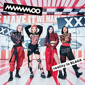 CD/reality in BLACK -Japanese Edition- (歌詞付) (通常盤)/MAMAMOO/VICL-65343