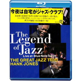 BD/The Legend of JAZZ Live at Blue Note Tokyo(Blu-ray)/ザ・グレイト・ジャズ・トリオ/ハンク・ジョーンズ/VRXL-8801