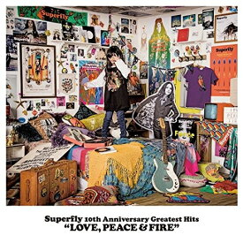 CD/Superfly 10th Anniversary Greatest Hits LOVE, PEACE & FIRE (紙ジャケット) (初回限定盤)/Superfly/WPCL-12617