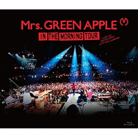 BD/IN THE MORNING TOUR - LIVE at TOKYO DOME CITY HALL 20161208(Blu-ray)/Mrs.GREEN APPLE/UPXH-20050