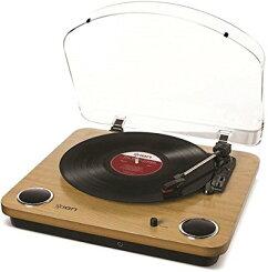 【お取り寄せ】IONAudioMaxLPレコードプレーヤーUSB端子スピーカー内蔵/IONAudio/08127-15015374