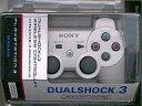 【中古】PS3ハード ワイヤレスコントローラDUALSHOCK3 セラミック・ホワイト