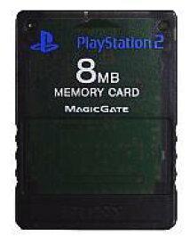 【中古】PS2ハード PlayStation2 専用メモリーカード(8MB) ゼン・ブラック