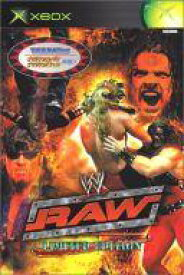 【25日24時間限定!エントリーでP最大26.5倍】【中古】XBソフト WWE RAW 〔通常〕