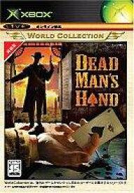 【15日24時間限定!エントリーでP最大26.5倍】【中古】XBソフト Dead Man's Hand (Xboxワールドコレクション)