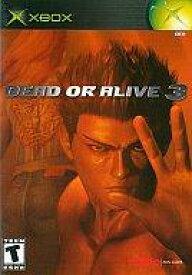 【中古】XBソフト 北米版 DEAD OR ALIVE 3(国内使用不可)