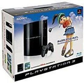 【エントリーでポイント10倍!(4月16日01:59まで!)】【中古】PS3ハード みんなのGOLF5 プレイステーション3本体 ビギナーズパック(HDD60GB)