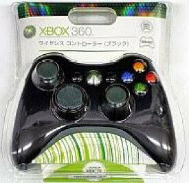 【中古】XBOX360ハード ワイヤレスコントローラ [ブラック]