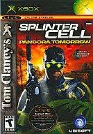 【25日24時間限定!エントリーでP最大26.5倍】【中古】XBソフト 北米版 Tom Clancy's SPLINTER CELL -PANDORA TOMORROW-(国内版本体動作可)