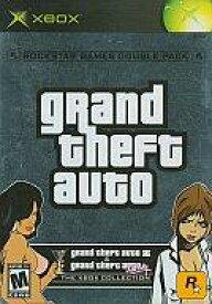 【中古】XBソフト 北米版 grand theft auto double pack(国内使用不可)
