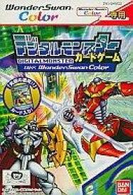 【中古】ワンダースワンソフト デジタルモンスターカードゲームVer.WSC