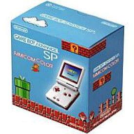 【中古】GBAハード ゲームボーイアドバンスSP本体 ファミコンカラー(本体単品/付属品無) (箱説なし)