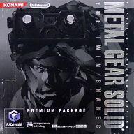 【中古】NGCハード ゲームキューブ本体 メタルギアソリッド ツインスネークス プレミアムパッケージ