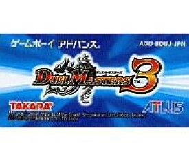 【中古】GBAソフト デュエルマスターズ3 (箱説なし)
