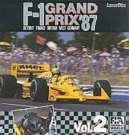 【中古】LD '87 F-1グランプリ Vol.2 西ドイツ・デトロイト・フランス・イギリス【タイムセール】