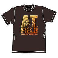 【中古】Tシャツ(キャラクター) エヴァンゲリヲン 新劇場版 ATフィールドロゴTシャツ ブラック サイズM