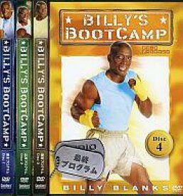 【中古】その他DVD BILLY'S BOOTCAMP 全4巻セット [日本語字幕版]