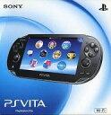 【中古】PSVITAハード PlayStation Vita本体<<Wi-Fiモデル>>(クリスタル・ブラック)[PCH-1000 ZA...
