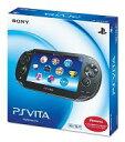 【中古】PSVITAハード PlayStation Vita本体<<3G / Wi-Fiモデル>>(クリスタル・ブラック)[初回限定版]...