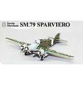 【エントリーで全品ポイント10倍!(8月18日09:59まで)】【中古】プラモデル SM.79 SPARVIERO 132大隊 281飛行隊 ミリタリーエアクラフトシリーズ BigBird Vol.5 上巻 BOX