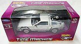 【中古】ミニカー 1/24 Delorean Time Machine(シルバー) 「バック・トゥ・ザ・フューチャー」 [22443W]