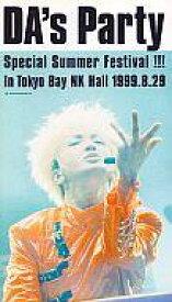 【中古】邦楽 VHS DA'sパーティ・スペシャル・サマー・フェスティヴァル!!!in TokyoベイNKホール 1999.8.29