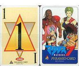 【中古】キャラカード(キャラクター) マクロス7 ピラミッドカードゲーム アニメージュ1995年0月号ふろく