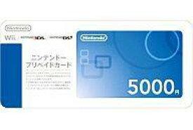 【エントリーでポイント10倍!(9月26日01:59まで!)】【新品】Wiiハード ニンテンドープリペイドカード5000円