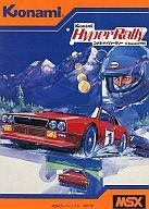 【中古】MSX カートリッジROMソフト コナミ・ハイパーラリー