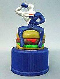 【中古】ペットボトルキャップ 2.HAMBURGER「ペプシマン フード&ペプシ」ペプシマンボトルキャップ第2弾