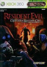 【中古】XBOX360ソフト アジア版 RESIDENT EVIL(バイオハザード)オペレーション ラクーンシティ(国内版本体動作可)