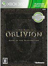 【エントリーで全品ポイント10倍!(7月26日01:59まで)】【中古】XBOX360ソフト The Elder Scrolls IV:オブリビオン Game of the Year Edition[プラチナコレクション]