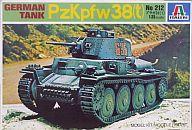 【中古】プラモデル 1/35 ドイツ 軽戦車プラガ38t(人形1体つき) [212]