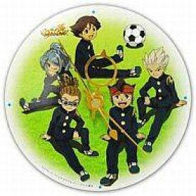 【中古】置き時計・壁掛け時計(キャラクター) イナズマイレブン 時計(CDサイズ)