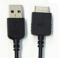 【中古】ポータブルオーディオ WM-PORT専用 USBケーブル [WMC-NW20MU]