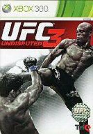 【中古】XBOX360ソフト アジア版 UFC UNDISPUTED 3 (国内版本体動作可)