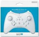 【中古】WiiUハード WiiU PROコントローラー (shiro)