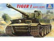 【中古】プラモデル 1/35 ドイツ重戦車 タイガーI E型 [286]
