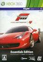 【中古】XBOX360ソフト Forza Motorsports4 Essentials Edition