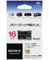 【中古】PSPハード メモリースティックPROデュオ 16GB [MS-MT16G]