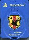 【中古】PS2ハード サッカー日本代表メモリーカード 8MB [ジャパンブルー](専用ケース欠け)