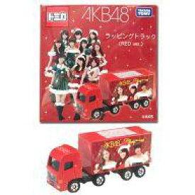【中古】ミニカー AKB48 ラッピングトラック(RED ver.) 「トミカ」 セブンイレブン限定【タイムセール】