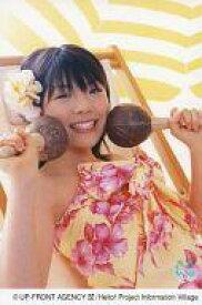 【中古】生写真(ハロプロ)/アイドル/モーニング娘。 モーニング娘。/小川麻琴/上半身・衣装黄色・赤の花柄・両手マスカラ・ポストカードサイズ/Alo-Hello/公式生写真